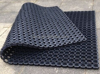 Good News !!! Anti-slip waterproof outdoor /kitchen/ rubber floor /Quick ship rubber flooring