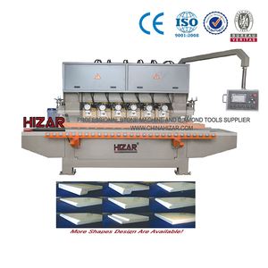 Automatic Stone Edge Marble Machine/gem cutting and polishing machine