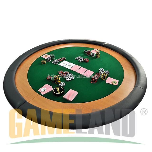Round Folding Poker Table Cover