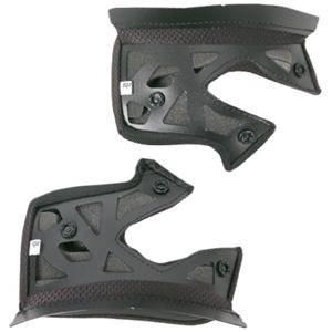 AGV AX-8 Evolution Helmet Cheek Pads - 2X-Small/Black