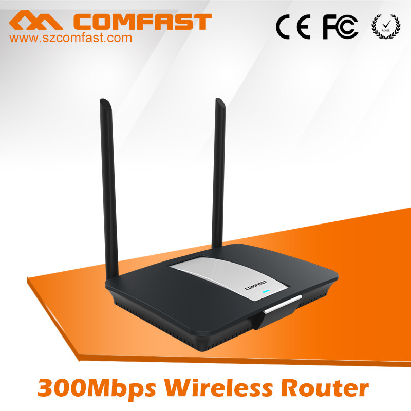 Long Range COMFAST Power Amplifier CF-WR610N V2.0 300Mbps 2.4 Ghz Wifi Router 1KM With Open WRT Portal Certification