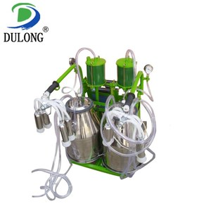 16-20 cows/h professional used goat milking machine for sale