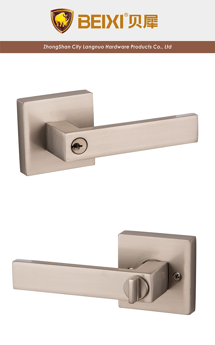 American Exterior Keyed Lever Lock Heavy Duty Tubular Lever Door Lock ...