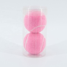 Personalizzato rosa in scatola normale pratica <span class=keywords><strong>palla</strong></span> <span class=keywords><strong>da</strong></span> <span class=keywords><strong>tennis</strong></span>