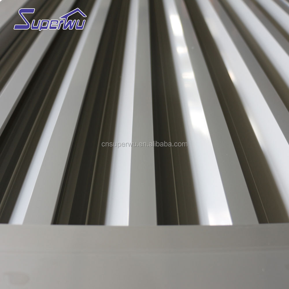 Australia standard aluminum fixed windows with louver windows best quality factory direct supply