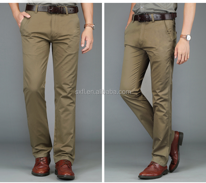 china factory men suit mens casual pants custom golf cotton trouser formal men pants