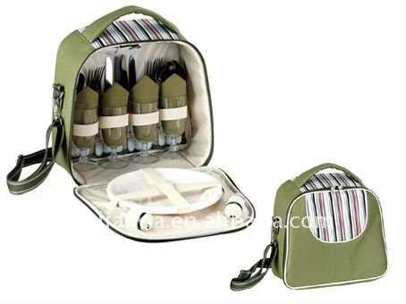 Insulated wine carry for 2 person JLD09070