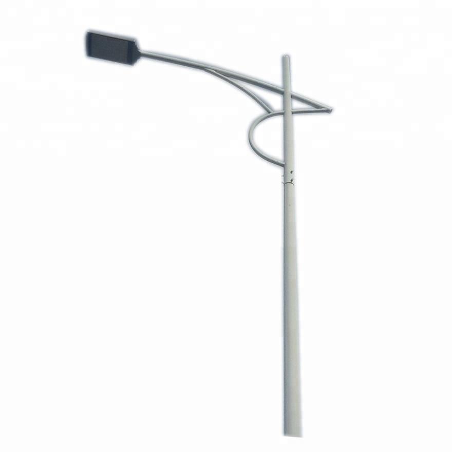 Steel Road Street Lighting Poles