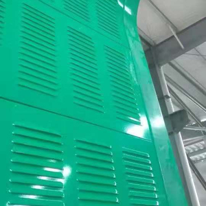 sound barrier glass/highway fence/avoid noise fence barrier iso 9001 quality china popular sale