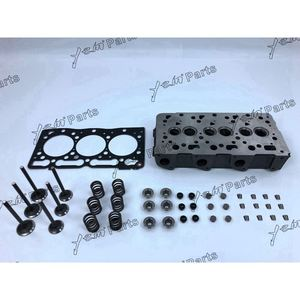 D1005 Complete Cylinder Head With Valves Cylinder Head Gasket For Kubota