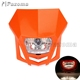 Universal Supermotor Headlight For Yamaha Honda Kawasaki KTM Dual Sport Off-Road Dirt Bike Street fighter