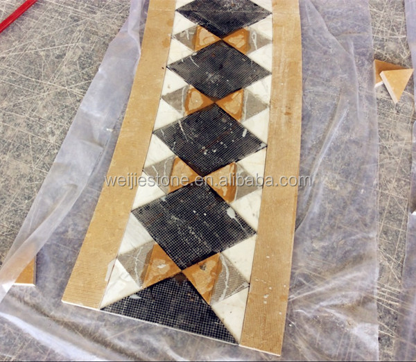 Yellow And Green Marble Flooring Border Designs View Weijie Stone Product Details From Yunfu Co