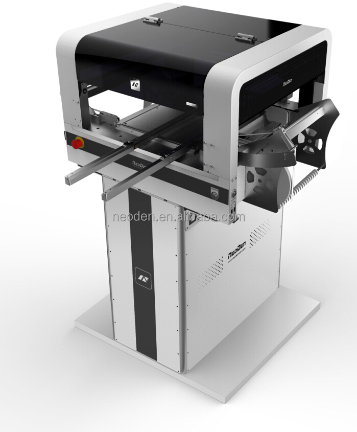 Automatic desktop pick and place machine-NeoDen4 ,latest pick and place machine,small scale production line,high performance