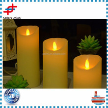 Color changing White for party led luma flameless decorative candles