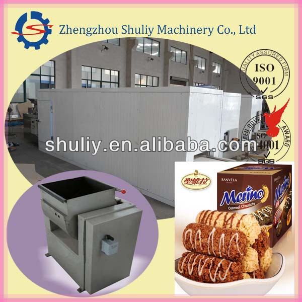 Oatmeal chocolate yummy candy machines/candy making machine price(0086-13837171981)
