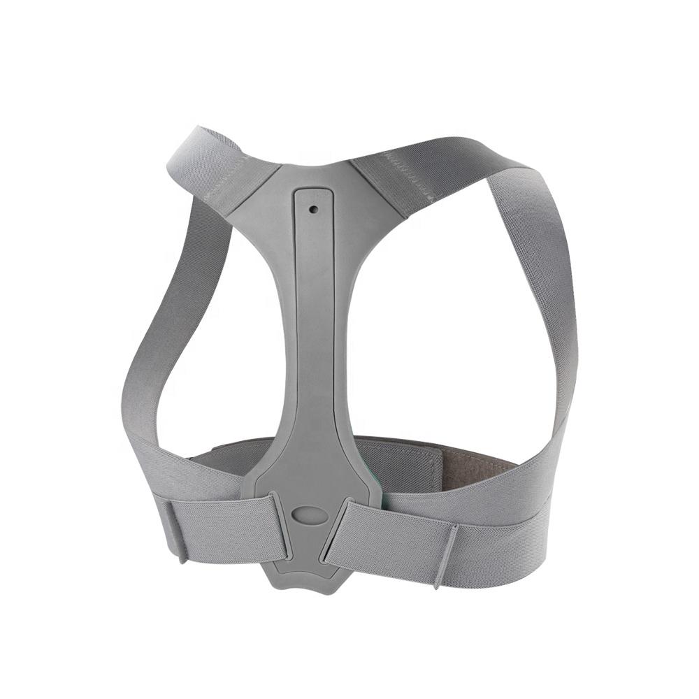 Upper back posture corrector brace hot selling on Amazon, Grey
