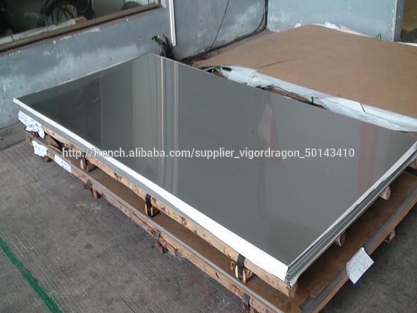 prix compétitif ffb03 de7de 201 6K 8K tôle d'acier inoxydable poli miroir-Feuilles en ...