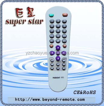 Master Tv Remote Control Use For Panasat 777 - Buy Universal Remote  Control,Remote Control For Satellite Receiver,Remote Dmx Controller Product  on