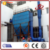 Pulse jet filter baghouse dust extraction