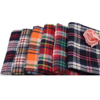 Hot sale High Quality 21S Yarn Dyed 100 Cotton Plaid