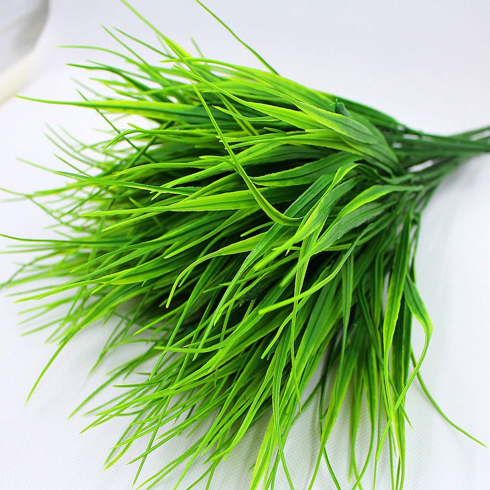 Faux verdure arbustes blé herbe fenêtre 8 pièces ...
