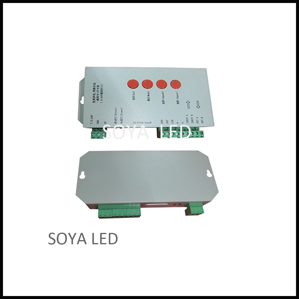 T1000s Sd Card Controller Compatible With Ws2801 Ws2811 Ws2812 The Led Strips In My Device Use Uses A Ws2812b Ucs1903 Buy T1000s2812 Controller2811 Product On