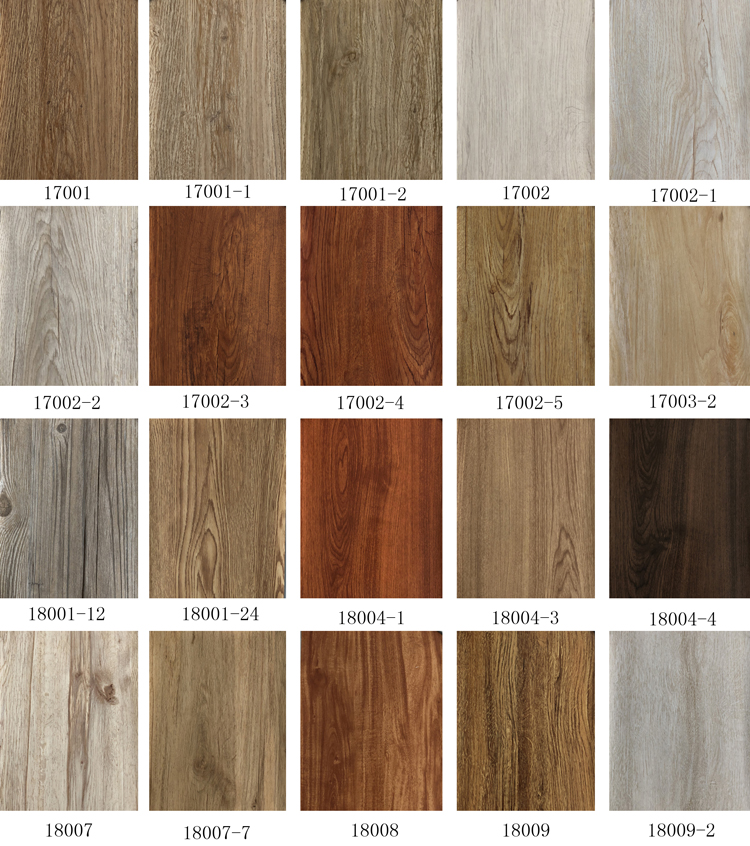 fireproof self adhesive wood look pvc vinyl flooring