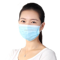 2018 High Quality New Products Nonwoven Disposable 3 Ply Face Mask/Surgical Face Mask/Medical Face Mask Medical Equipment