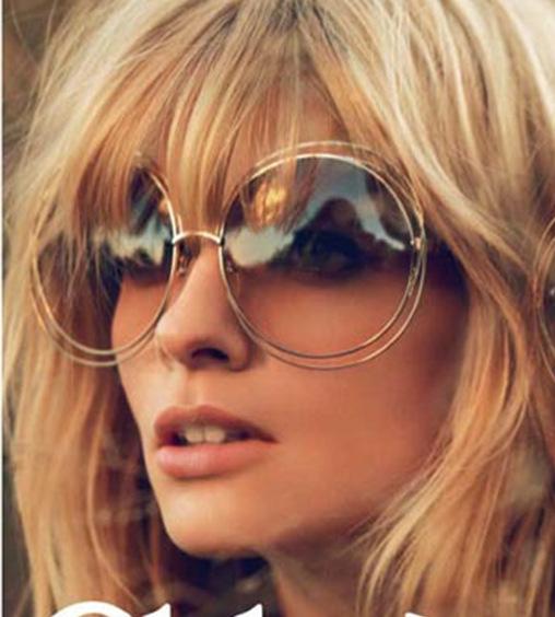 39f7a87f4 New big circle round frame Brand Designer sunglasses bicyclic female  fashion personality Oculos Feminino sun Glasses fo Women