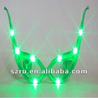 Christmas Party Supplies Custom Lovely Fascinating Glowing LED Glasses
