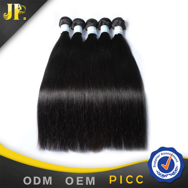 100% remy indian human hair india silky straight wave hair natural color