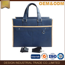 2017 Latest business briefcase bag pu leather tote bag for men