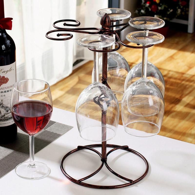 achetez en gros vin verre stands en ligne des grossistes vin verre stands chinois aliexpress. Black Bedroom Furniture Sets. Home Design Ideas