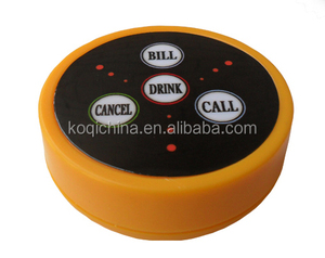 Restaurant Table Calling Waiter System 4 Keys Call Button