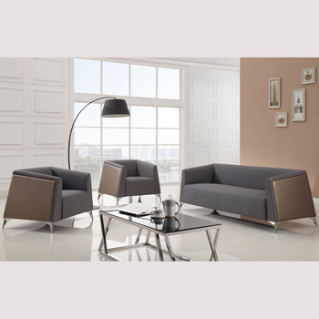 Italian Sofa Factory Direct Simple Sofa Design With Stainless Steel