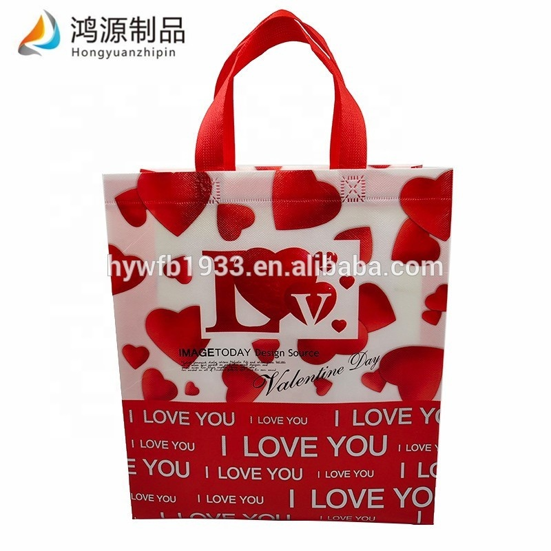 Factory made non woven bag jewelry shopping bag non woven gifts packing bag