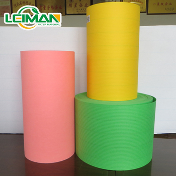 Auto car truck bus engine air filter wood pulp paper