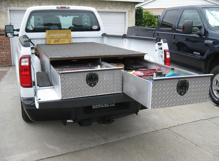 Custom Truck Bed Tool Boxes