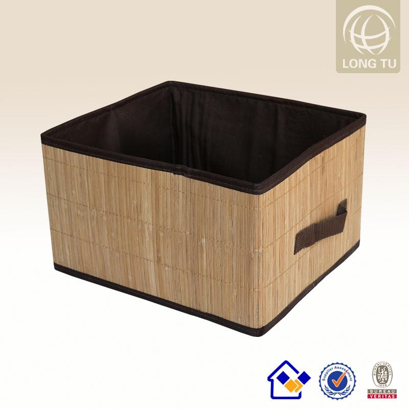 Bambou boîte de rangement chaud 2014 décoratifs./bac de rangement ...