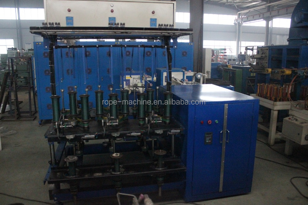 two for one yarn twisting machine for fishing net yarn