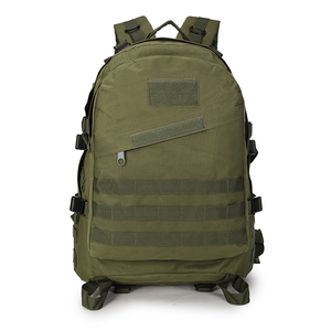 Small custom military hydration backpack with water bladder for outdoor travel