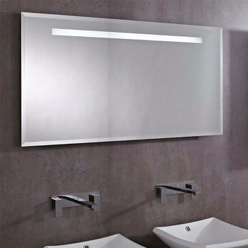 Wall Mounted LED Light Mirror With Touch Sensor Switch