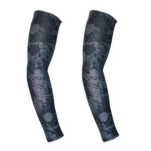 sublimated custom printed sports lycra arm sleeves