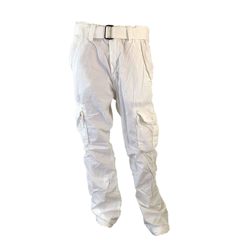 Simple Womens White Swan Fundamentals Cargo Pants Navy