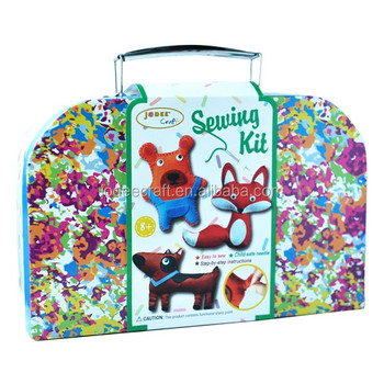 Woodland Animals Craft Kids Sewing Kit Craft For Kids View Craft