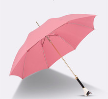 Automatique dames pliant <span class=keywords><strong>animal</strong></span> poignée <span class=keywords><strong>parapluie</strong></span>