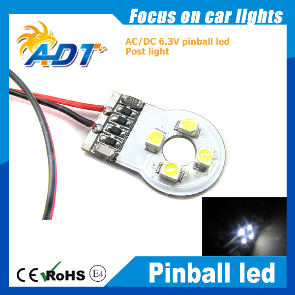 AC 6.3V non ghosting pinball round plate for post led pinball mahcine
