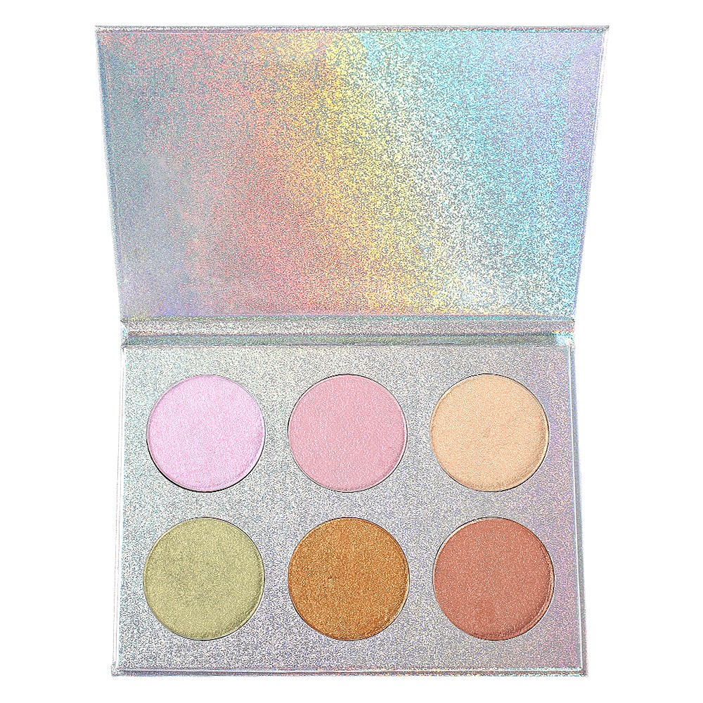 7 Colors Private Label NO LOGO Highlight Cosmetics Makeup Contour Shimmer Face Liquid Highlighter