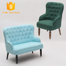Multi-pattern restaurant country style furniture sofas leather sofa