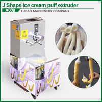 Economical and practical snacks ice cream cone puffed corn stick making machine